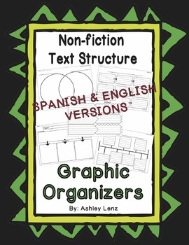 Nonfiction Text Structure Graphic Organizers