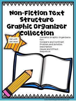 Nonfiction Text Structure Graphic Organizers