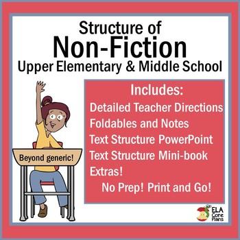 Nonfiction Text Structure ~ No Prep! Teach & Practice