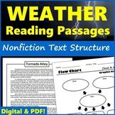 Nonfiction Text Structure Passages About Weather - Printab