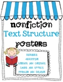 Nonfiction Text Structure Posters