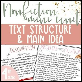 Nonfiction Text Structure Practice