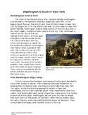 Nonfiction Text Structure - Problem and Solution, Washingt