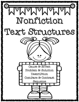 Nonfiction Text Structure Scavenger Hunts and Organizers