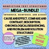 Nonfiction Text Structure: Teaching Resource Mega Bundle!
