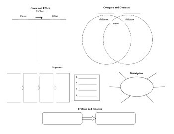 Nonfiction Text Structure / Text Features Workmat