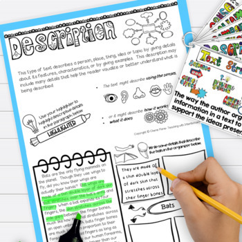 Nonfiction Text Structures 3rd 4th 5th Grade RI3.8 RI4.5 Digital Classroom