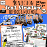 Nonfiction Text Structures 3rd 4th 5th Grade RI3.8 RI4.5 D