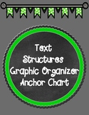 Nonfiction Text Structures Anchor Chart Graphic Organizer