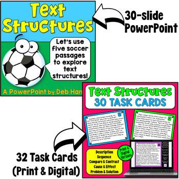 Nonfiction Text Structures: A Bundle of Activities with Lesson Plans!