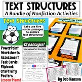 Nonfiction Text Structures: Bundle of Activities