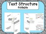 Nonfiction Text Structures Foldable