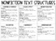 Nonfiction Text Structures Graphic Organizer