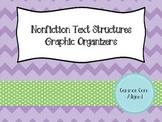 Nonfiction Text Structures Graphic Organizers - Common Cor
