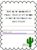 Nonfiction Text Structures Interactive Notebook