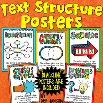 Informational Text Structures Posters