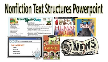 Nonfiction Text Structures PowerPoint