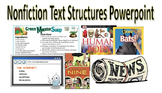 Nonfiction Text Structures PowerPoint