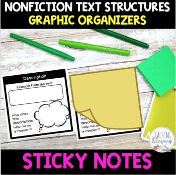 Nonfiction Text Structures Organizers