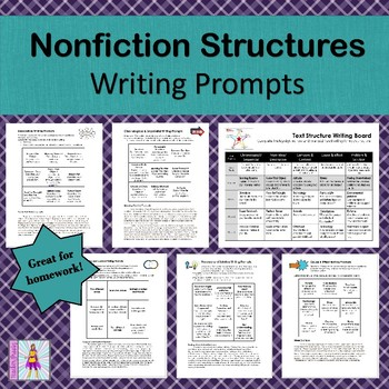 Nonfiction Text Structures: Writing Prompts