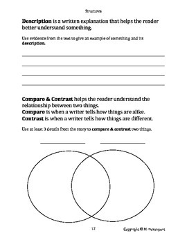 Nonfiction Text Traits Workbook