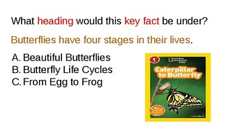 Nonfiction Text/Using Headings