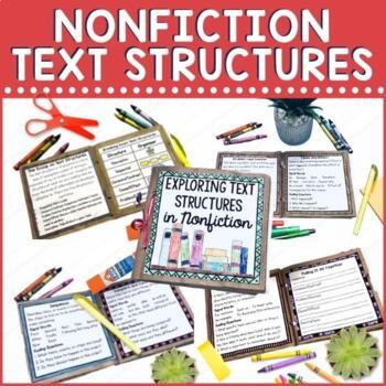 Nonfiction Text Structures Paper Bag Book