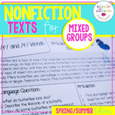 Nonfiction Texts for Articulation and Language {Spring/Sum