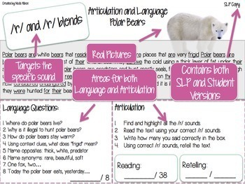 Nonfiction Texts Targeting Articulation & Language {Winter Edition}