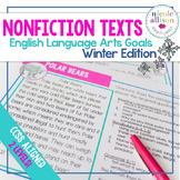 Nonfiction Texts with English Language Arts Targets {Winter Edition}