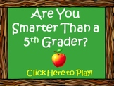 Nonfiction Tools and Genres - Are You Smarter Than a Fifth