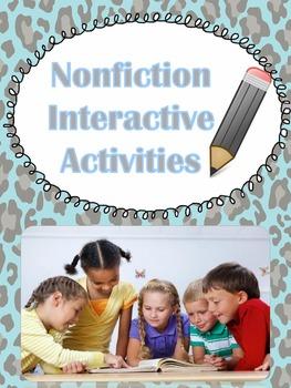 Nonfiction Unit Activiites
