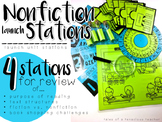 Nonfiction Unit Launch Stations
