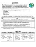 Nonfiction Unit Research Project