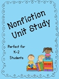 Nonfiction Unit Study with Graphic Organizers