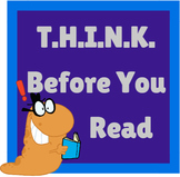 Nonfiction Worksheets: THINK Before You Read