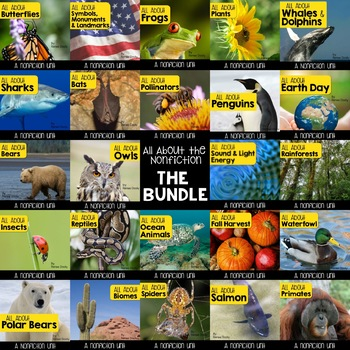 Nonfiction Units - What's Included