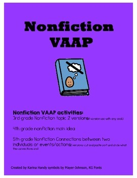 Nonfiction VAAP