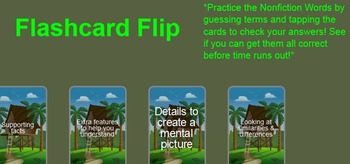 Nonfiction Vocabulary Smartboard Practice