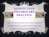 Nonfiction Vocabulary Smartboard Practice