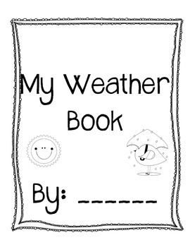 Nonfiction Weather Book