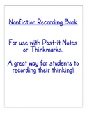 Nonfiction Weather Recording Book/Book Report