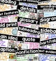 Nonfiction Word Wall: Nonfiction Posters, Nonfiction Text Features Posters