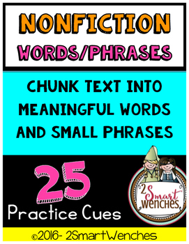 Nonfiction Word and Phrasing Cues