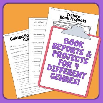 Informational Text Worksheets and Guided Book Reports
