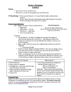 Nonfiction Writing:  1st Grade Lessons on Genre
