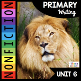 Nonfiction Writing - Animal Reports - Reading - Informational Non-Fiction Zoo