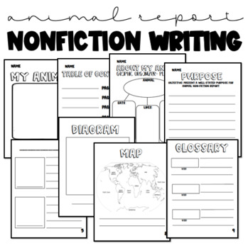 Nonfiction Writing Animal Report