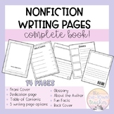 Nonfiction Writing Book Template