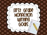 Nonfiction Writing Goals {First Grade}